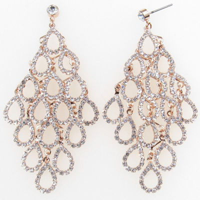 Vieste Rosa Brass Drop Earrings