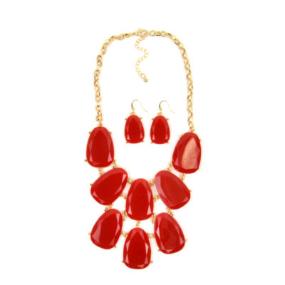 Mixit Womens Gold Tone 2-pc. Jewelry Set