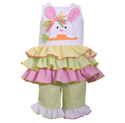 Bonnie Jean 2-pc. Legging Set-Preschool Girls