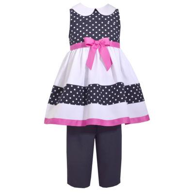 Bonnie Jean Polka Dot Legging Set - Preschool Girls