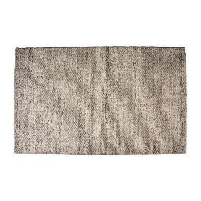 Walnut Collection Wool Rectangular Area Rug