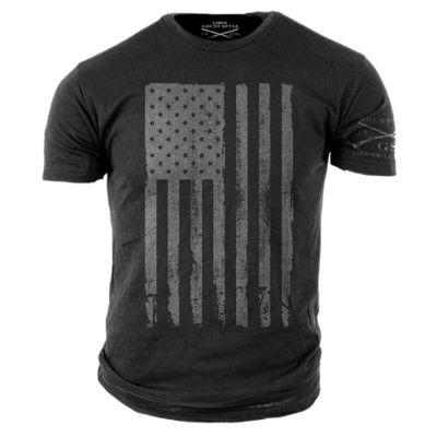Grunt Style America Grey Graphic T-Shirt - Big & Tall - 3XL