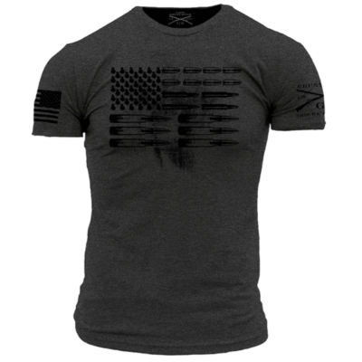 Grunt Style Flag Graphic T-Shirt