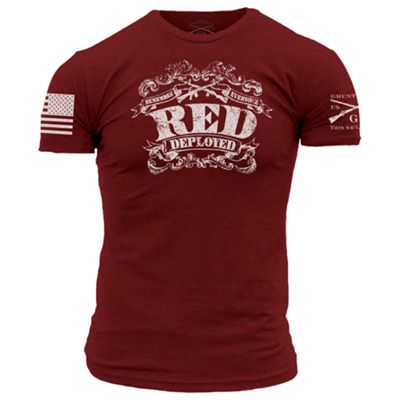 Grunt Style The R.E.D. Shirt II Graphic T-Shirt