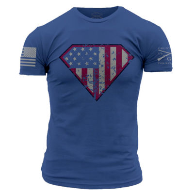 Grunt Style Super Patriot Graphic T-Shirt