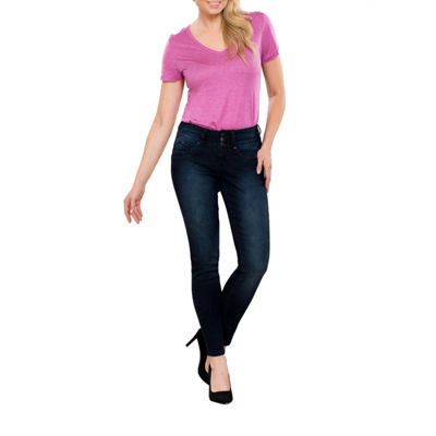 Royalty By YMI WBB 3 Button Skinny Jean
