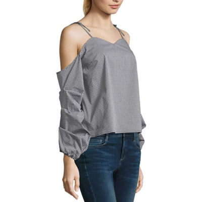 Belle Sky Sweetheart Neckline Top