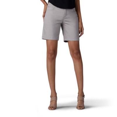 "Lee Total Freedom Short 7"" Denim Shorts-Petite"