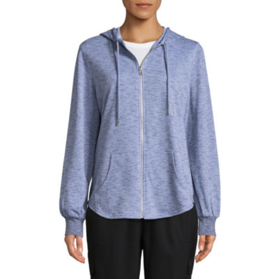 St. John's Bay Active Long Sleeve Knit Hoodie