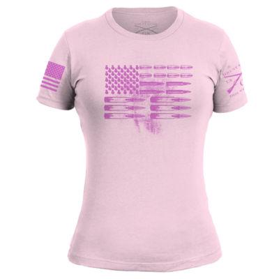 Grunt Style Flag Ladies T-Shirt