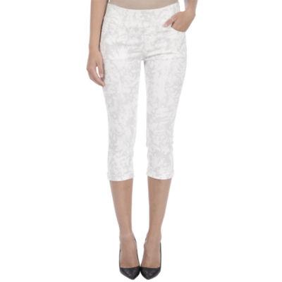 Lola Jeans Mid-rise Pull On capris