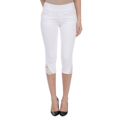Lola Jeans Mid-rise Pull On capris