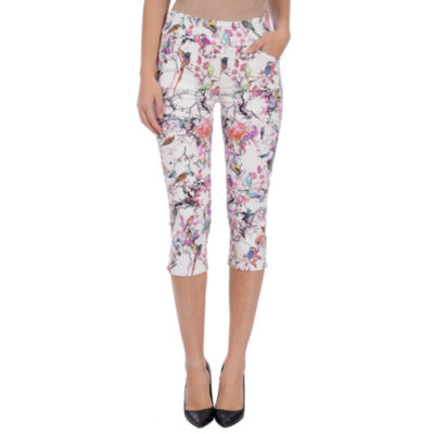Lola Jeans High-rise Pull On capris
