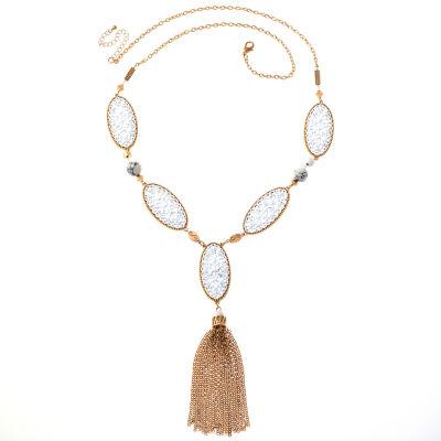 Bijoux Bar 28 Inch Solid Link Chain Necklace