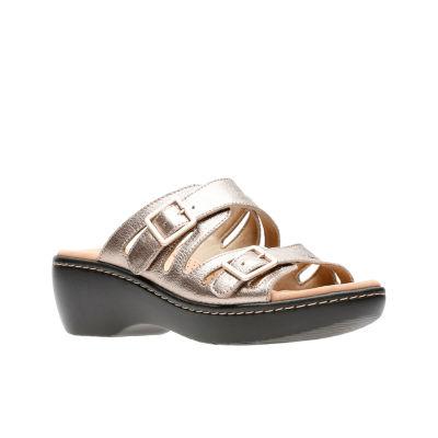 Clarks Delana Liri Womens Slide Sandals