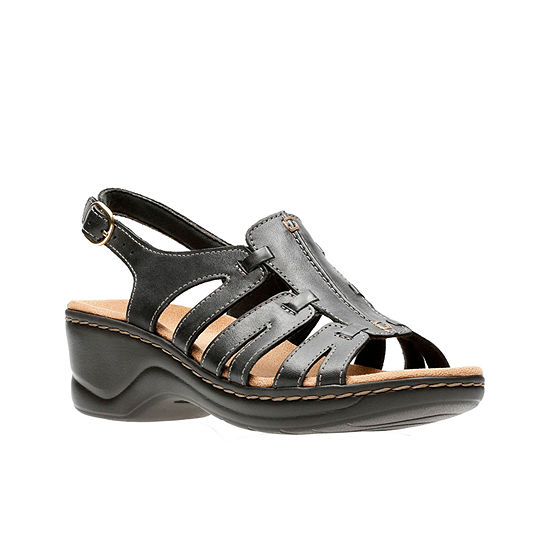 bce003f7cf9ad Clarks Lexi Marigold Womens Strap Sandals JCPenney