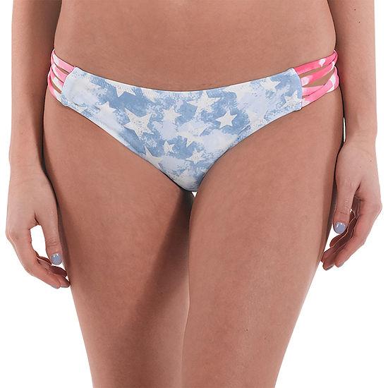 Wallflower Tie Dye Bikini Swimsuit Bottom Juniors
