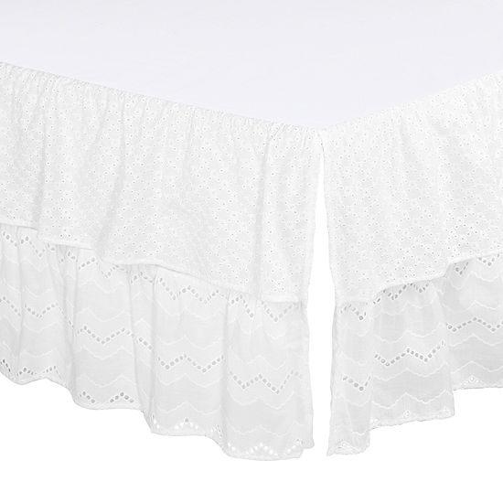 The Peanut Shell Taylor Crib Skirt