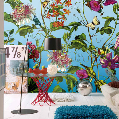 Brewster Wall Jardin Wall Mural Wall Decal