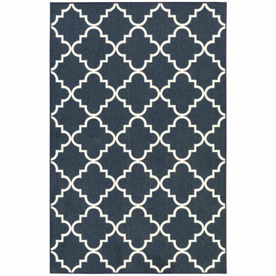 Mohawk Home Soho Fancy Trellis Printed Rectangular Indoor Rugs