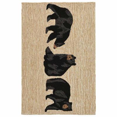 Liora Manne Frontporch Bears Indoor/Outdoor Rug