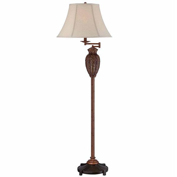 Seahaven Wicker Floor Lamp