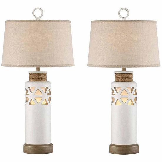 Seahaven Rope Table Lamp Set