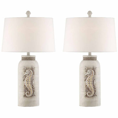 Seahaven Seahorse Table Lamp Set