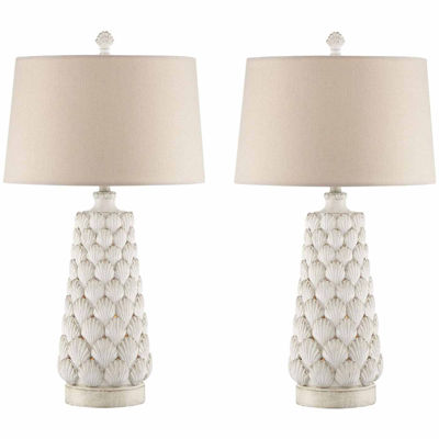 Seahaven Seashell Table Lamp Set