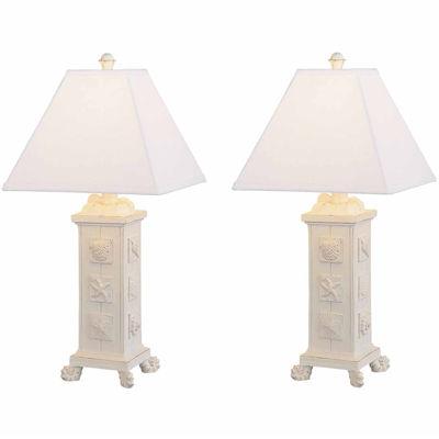 Seahaven Seashell Table Lamp Set