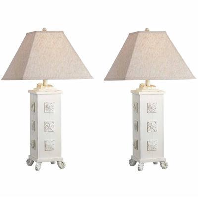 Seahaven Shell Table Lamp Set