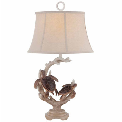 Seahaven Turtle Staghorn Table Lamp