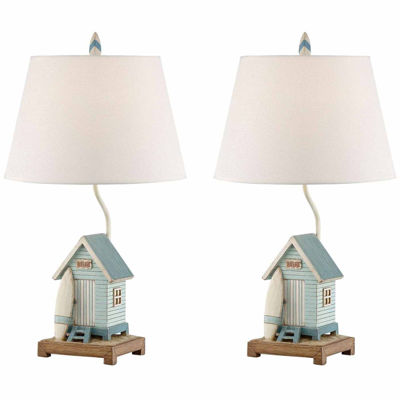 Seahaven Beach House Table Lamp Set