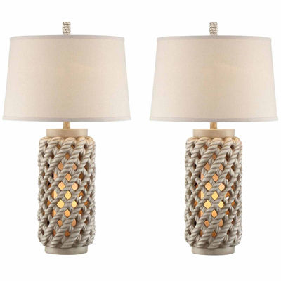 Seahaven Lantern Table Lamp Set