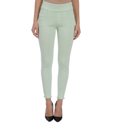 Lola Jeans Julia Mid-Rise Pull On Ankle