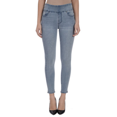 Lola Jeans Rachel High-Rise Pull On Ankle - Plus