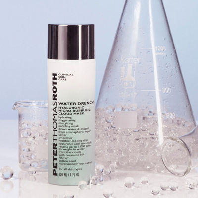Peter Thomas Roth Water Drench® Hyaluronic Micro-Bubbling Cloud Mask