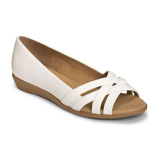 A2 by Aerosoles Womens Fanatic Slip-On Shoe Peep Toe