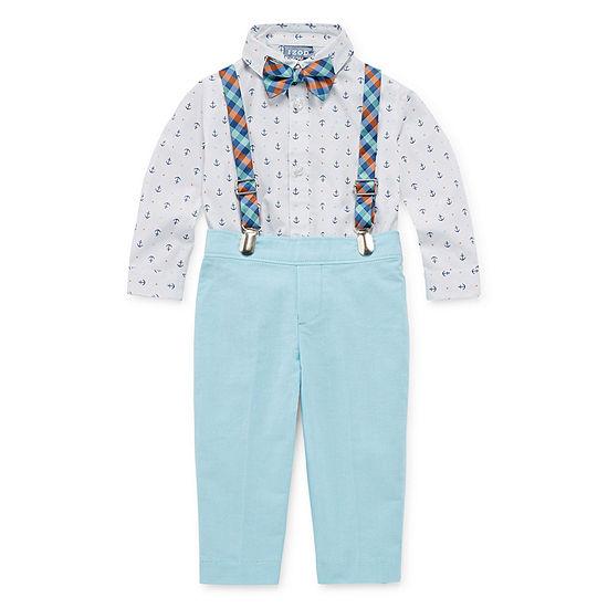 IZOD Baby Boys 4-pc. Suit Set