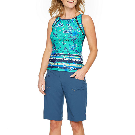 Free Country Floral Tankini Swimsuit Top Or Swimsuit Bottom