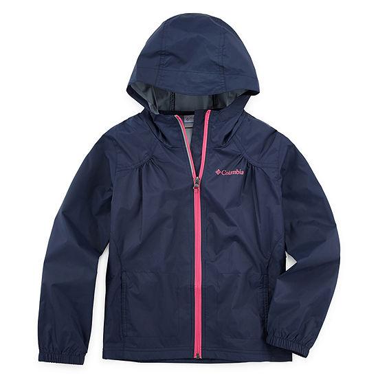 Columbia Sportswear Co. Girls Lightweight Rain Jacket