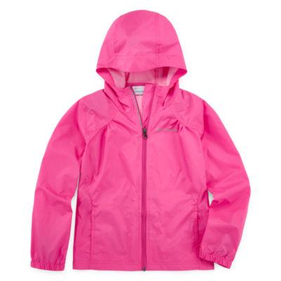 Columbia Sportswear Co. Lightweight Windbreaker - Girls