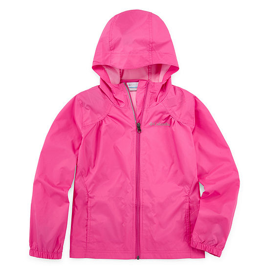 Columbia Sportswear Co. Girls Lightweight Rain Jacket