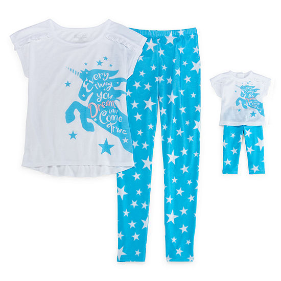 2-pc. Pant Pajama Set Preschool Girls