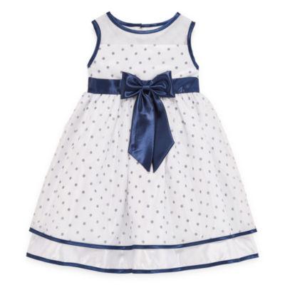 Princess Faith Sleeveless Party Dress - Toddler Girls