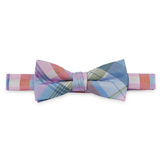 Van Heusen Boys Pretied Plaid Bow Tie