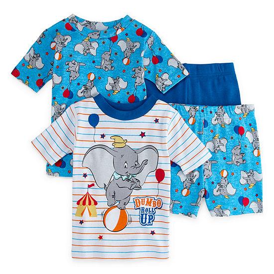 4-pc. Dumbo Pajama Set Toddler Boys