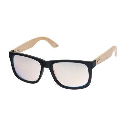 Arizona® Deep Dish Way Rectangular Sunglasses