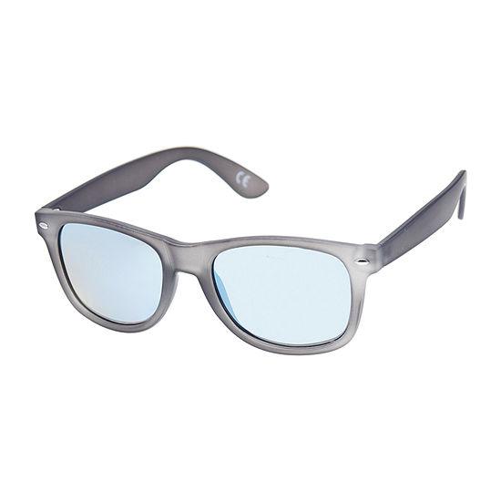 Arizona® Rubberized Rectangular Club Sunglasses with Ice Lens