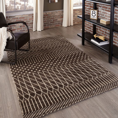 Momeni Atlas 6 Hand Knotted Rectangular Indoor Accent Rug
